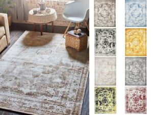 Traditional-Inspired-Persian-Faded-Transitional-Area-Rug-Multi-Color-ALL-SIZES