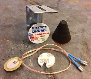 Details about SideArm Internal Electronic Piezo Foam Cone Trigger Acoustic  Drum Conversion DIY