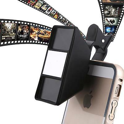 Unique Mini Photo Stereo Vision Black Camera 3D Lens for iPhone Samsung Tablet