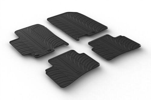 Design Passform Gummimatten Gummi Fußmatten für KIA Stonic ab BJ 09.2017