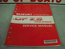 suzuki 60hp 4 stroke outboard service manual df60a 99500 88l00 01e rh ebay co uk Repair Manuals Manual Book
