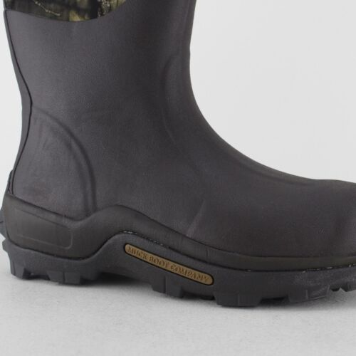Muck Boots WOODY MAX Unisex Womens Mens Warm Lined Outdoor Wellington Boots Moss