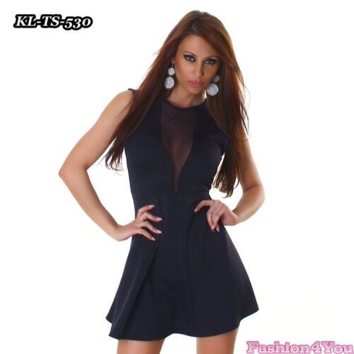 Women/'s Mini Dress Ladies Clubbing Party Prom Lace Dress One Size 8,10,12 UK