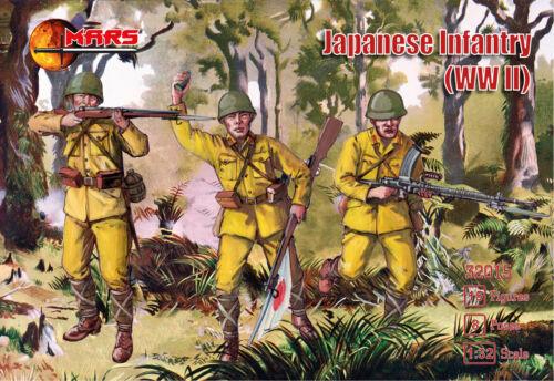 WWII Japanese Imperial Infantry BOX MADE UCRAINA SOLDATINI 1//32
