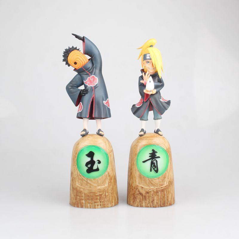 EGG Studio GK Naruto Akatsuki Deidara Tobi Vol.1 Limited PVC Figure New No Box