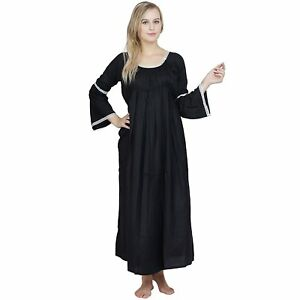 aliexpress pretty cheap new style of 2019 Details about Cape Sleeve Blouseon Shift Nighty Dress Night Gown  Women/Ladies/Girls S-5XL