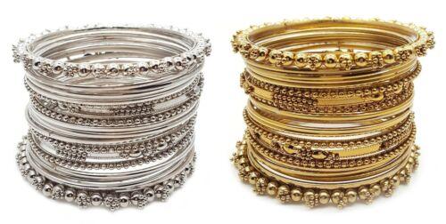 Indian Pakistani Bollywood PunJabi Gold Plated Bangles Brass Bracelet Kada Chudi
