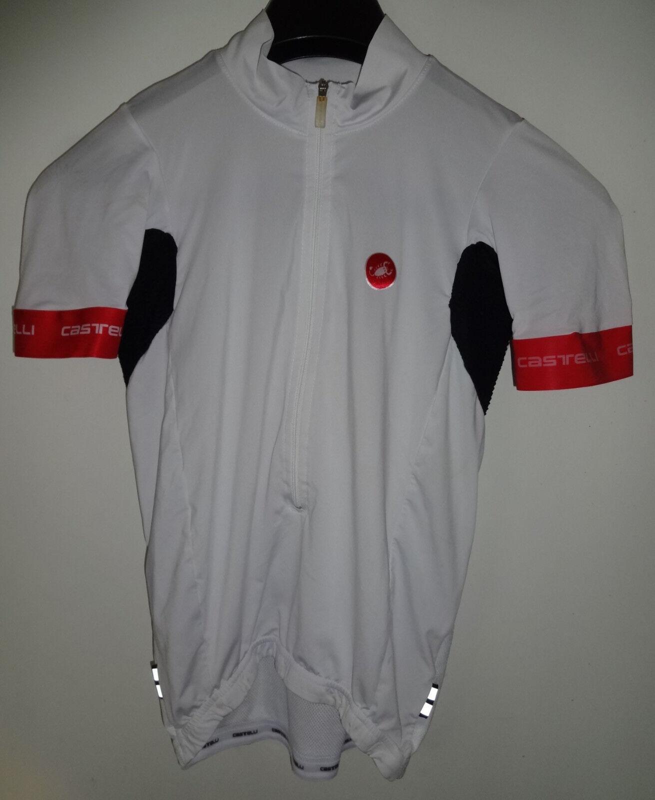 Castelli rojo corsa radtrikot  camiseta talla L  entrega de rayos