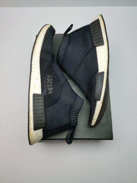 Adidas NMD CS1 PK Primeknit S32184 City Sock Black Winter Wool Boost Size  10.5 62f450fbe