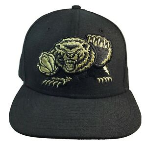 Memphis-Grizzlies-New-Era-Hardwood-Classic-Snapback-Hat-Black-And-Gold