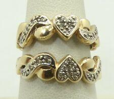 14k White Yellow Gold Two Tone Diamond Ring