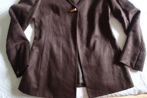 Giacca da Sz Blazer 148 Lafayette donna Lino 4 marrone e xfwTERAqU