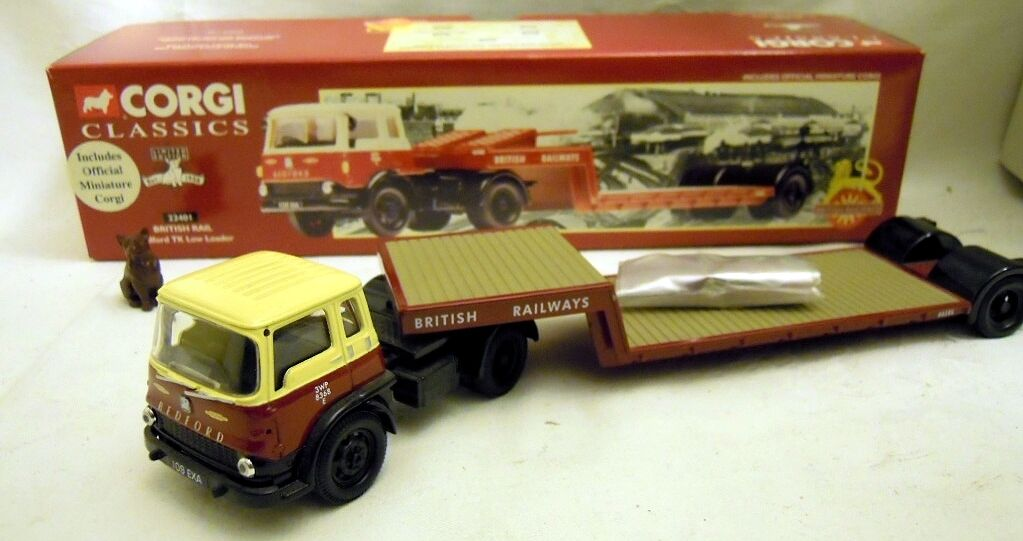 "Corgi 22401  Bedford TK Low Loader ""British Railways"" in 1 50, N E U & O V P"