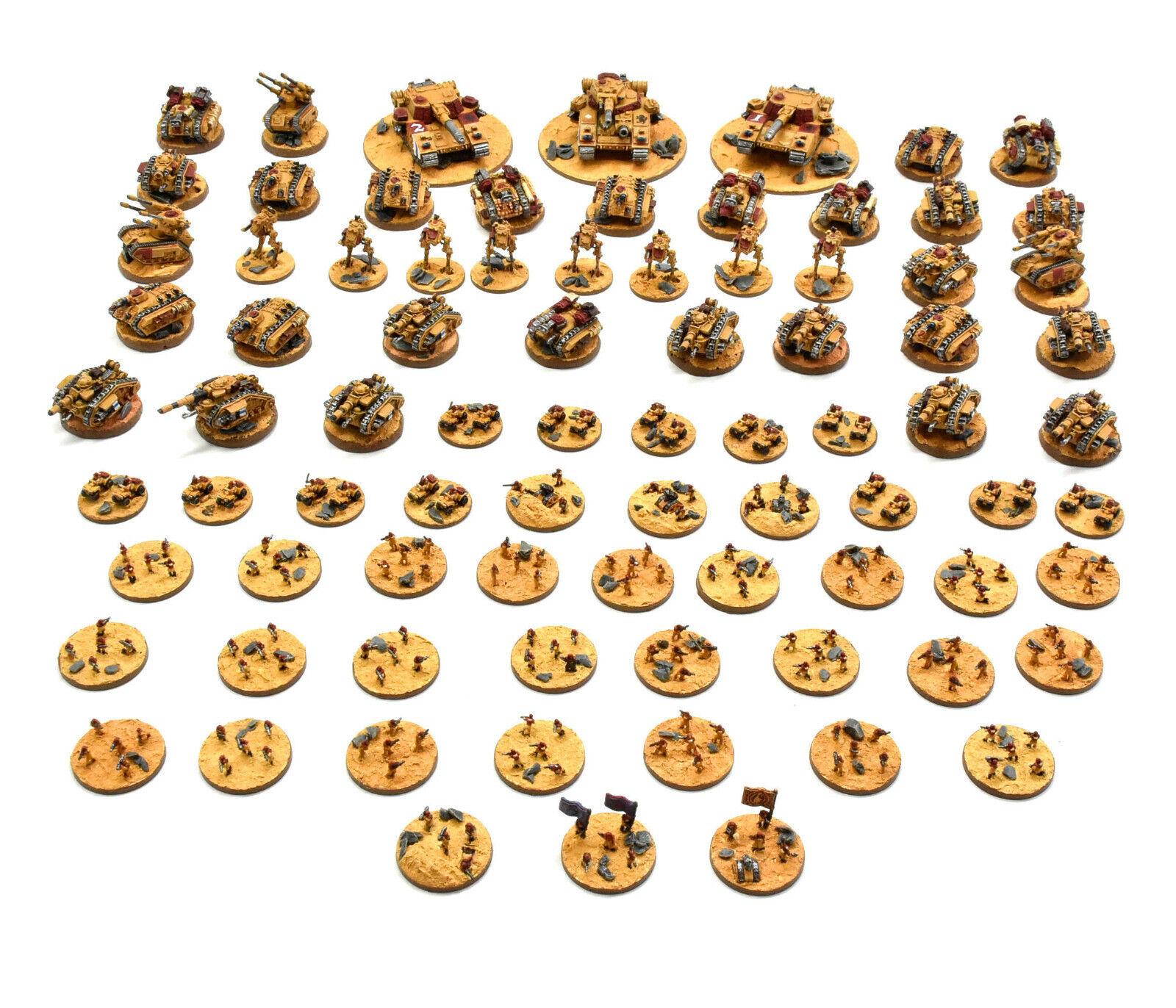 HUVUDSKYDD Epic Army PRO PAINTED Warhammer 40K Storlekrn