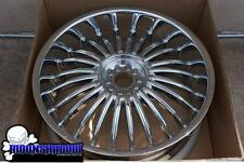 """NEW 24"""" DUB SUAVE SKIRTS SPINNER FLOATER BASE WHEEL 24x9.5 5x4.5 5x4.75 5x120"""