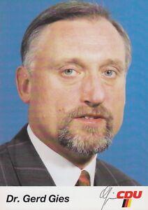 """Original Signiert 1#11 - """"sachsen-anhalt"""" RüCksichtsvoll Gerd Gies"""