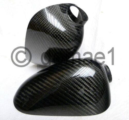 echt carbon Spiegelkappen Cover Honda CBR VTR CBF VFR CB 600 800 900 1000 1 Paar