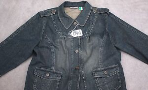 MOTTO-WOMEN-JEAN-JACKET-TOP-Size-XL-TAG-NO-194d