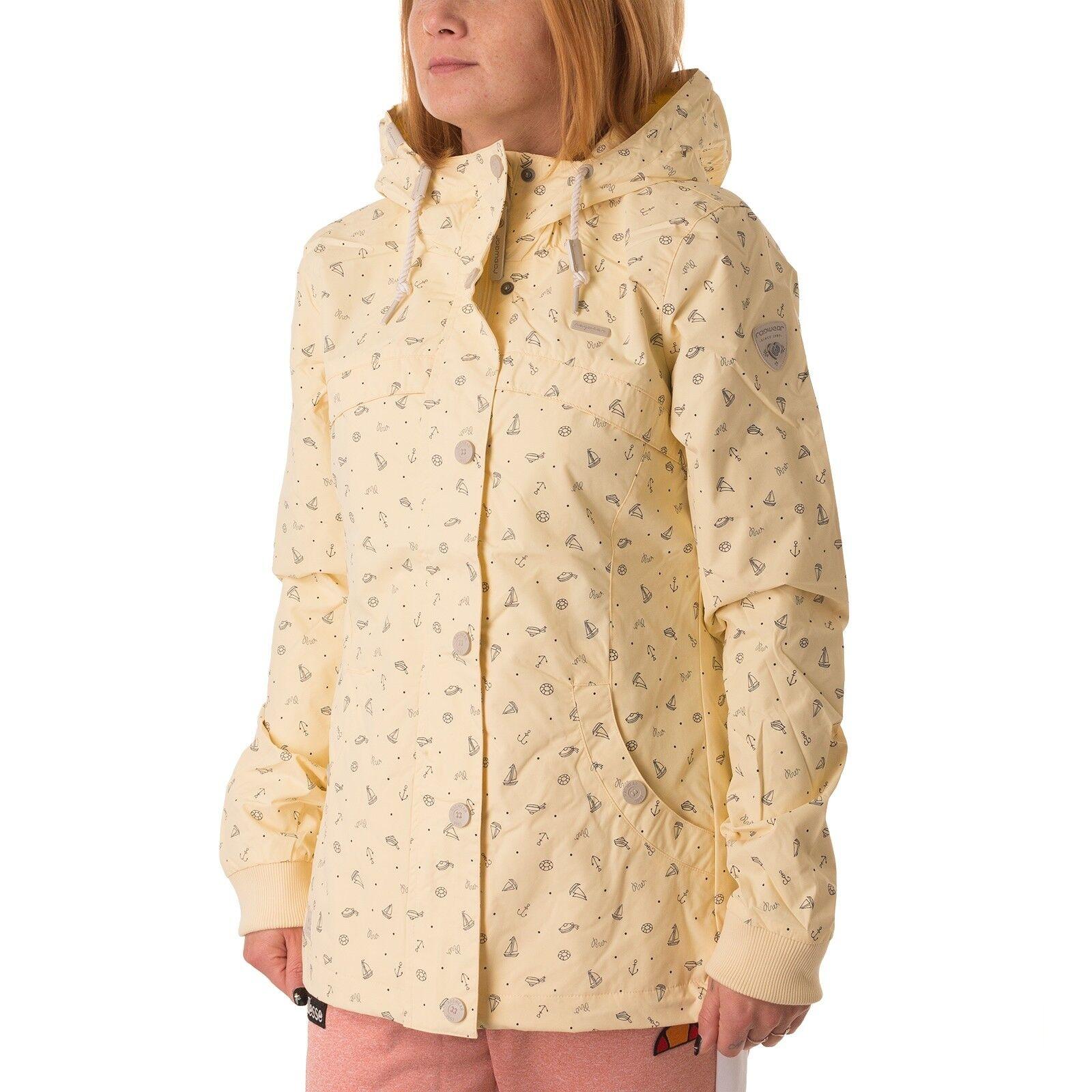 Ragwear Charlene Jacke Damen Übergangsjacke vanilla 43227