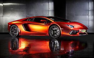 Lamborghini-Super-Car-CANVAS-PICTURE-WALL-ART-20-034-x30-034