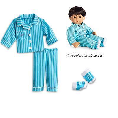 Puppen & Zubehör Puppen Rapture American Girl Bt Bitty Doppel Nadelstreifen Pj Für 38.1cm Puppe Pyjama Nacht Fashionable And Attractive Packages