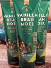 Bath & Body Works Vanilla Bean Noel Ultra Shea Cream Hand Lotion 8 Oz