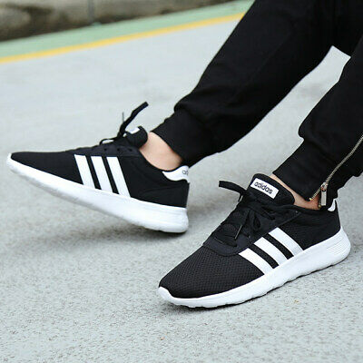 Adidas Mens Lite Racer Shoes Trainers
