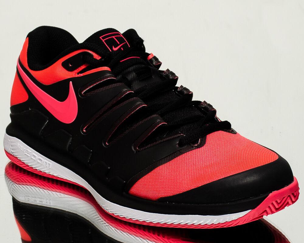 Nike Air Zoom Vapor X Clayhommetennis chaussures NEW noir solarrougeblanc AA8021-006