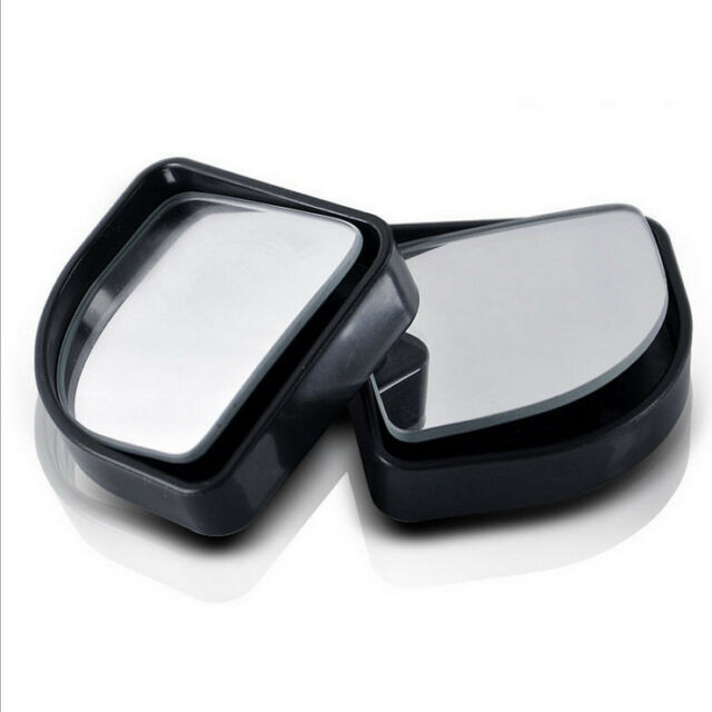 2Pc Auto Car Adjustable Side Rearview Blind Spot Rear View Auxiliary Mirror LTca