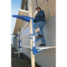 Blue Steel Pump Jack For Planks Scaffolding Power Tool Manual Crank Pole Track