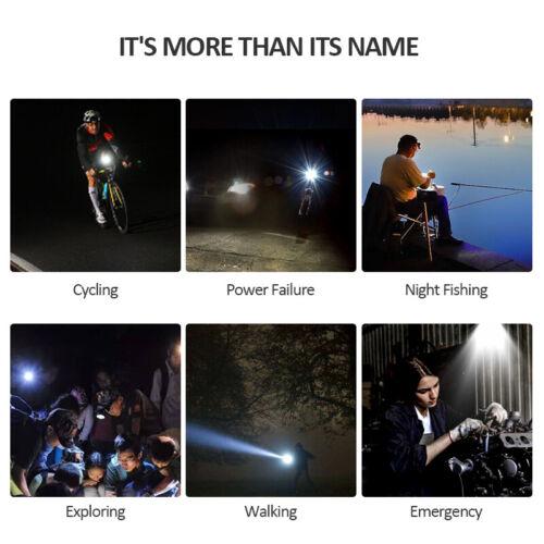 USB Rechargeable Bike Light Set 800 Lumen LED Bike Headlight with Tail Light