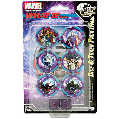 Heroclix Marvel 15th Anniversary Dice & Token Pack NEW Wizkids Games