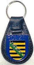 Schlüsselanhänger Polizei SACHSEN (Abzeichen Ärmelabzeichen Landespolizei)