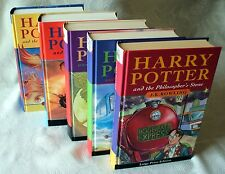 VERY RARE HARRY POTTER PHILOSOPHERS STONE 1st/1st UK HB First Edition Bloomsbury