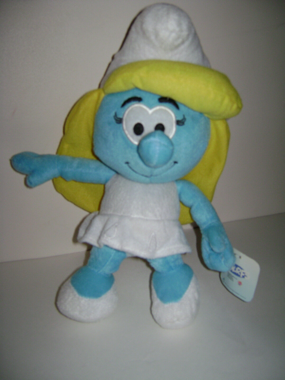 NEW The Smurfs Character Soft Plush Toy Smurfette Pretty Girl Stuffed Doll 13
