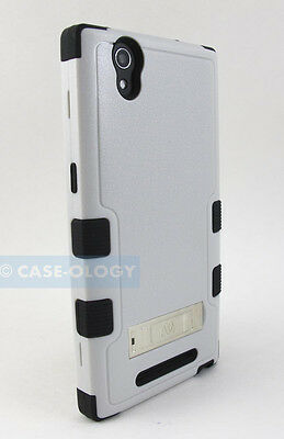 FOR ZTE PHONE MODELS NATURAL SHOCK PROOF TUFF RUGGED CASE COVER w/ STAND+STYLUS