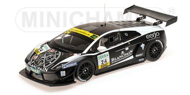 Minichamps 151 111124 lamborghini gallardo voiture modèle adac  gt masters 2011 1 18th  le moins cher