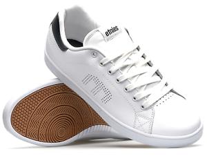 ETNIES-4101000474-145-CALLICUT-Mn-039-s-M-White-Navy-Synthetic-Skate-Shoes