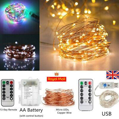 Night Lighting Romantic LED String Copper Wire Snowflake Light Fairy Lights