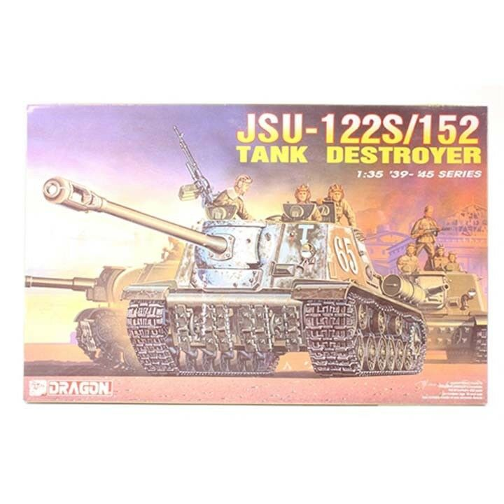 Dragon  35 JSU-122S 152 Tank Destroyer
