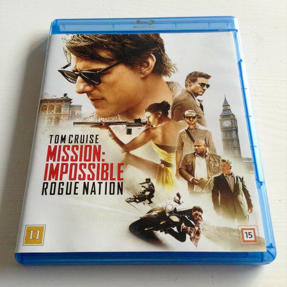 Mission Impossible: Rogue Nation, Blu-ray, action