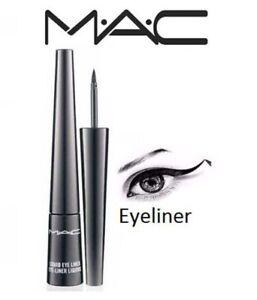 Mac-Delineador-Liquido-Negro-2-5ml-nuevo-punta-de-precision-Bota-Negro-Delineador-de-Ojos-Maquillaje