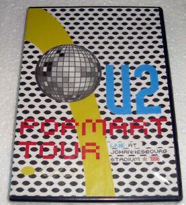 U2 – Live In Johannesburg - Pop Mart Tour - 1998  DVD Nuevo Made in Argentina