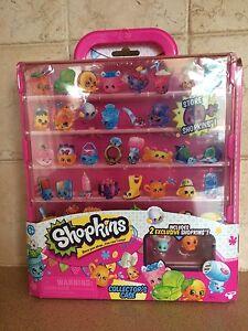 New-shopkins-collectors-case-w-2-exclusive-shopkins