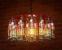 Coca-cola Bottle Chandelier Made In Usa Pendant Style