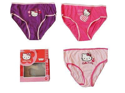 Schlüpfer 2 Hello Kitty Panties //Unterhosen 110-116  Neu  37 Slips Gr