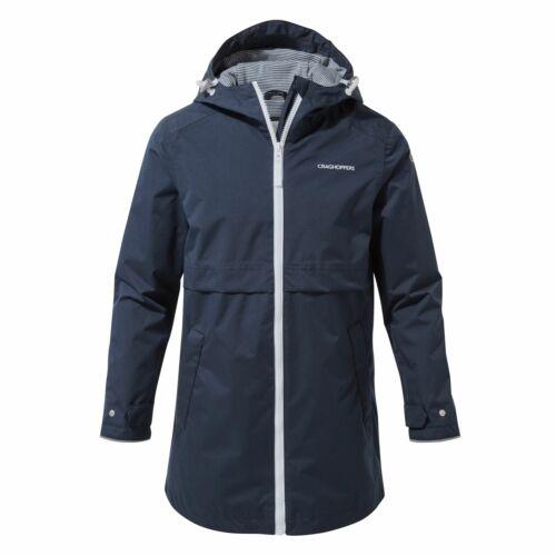 Craghoppers Dahna Girls Waterproof Jacket Lightweight Coat