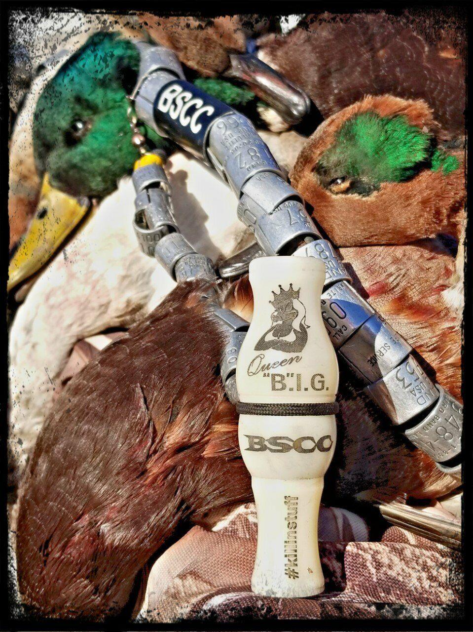 Big SEANS CHAMPIONSHIP llamada Reina grande Patos Marfil de un solo Reed