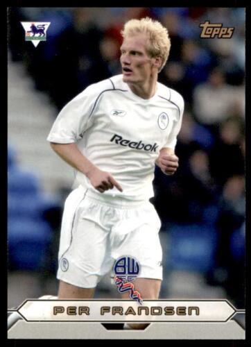 Topps Premier Dorado 2004-Bolton Per Frandsen-BW3