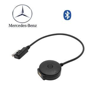 Schnittstelle-schwarzer-Bluetooth-Musik-Adapter-fuer-Kabel-Mercedes-Benz-MMI-AUX